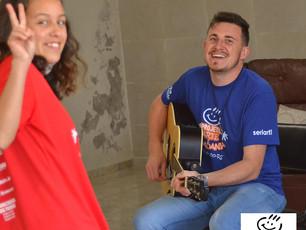 Canto Coral em atividades com prof. Deivid Jahn