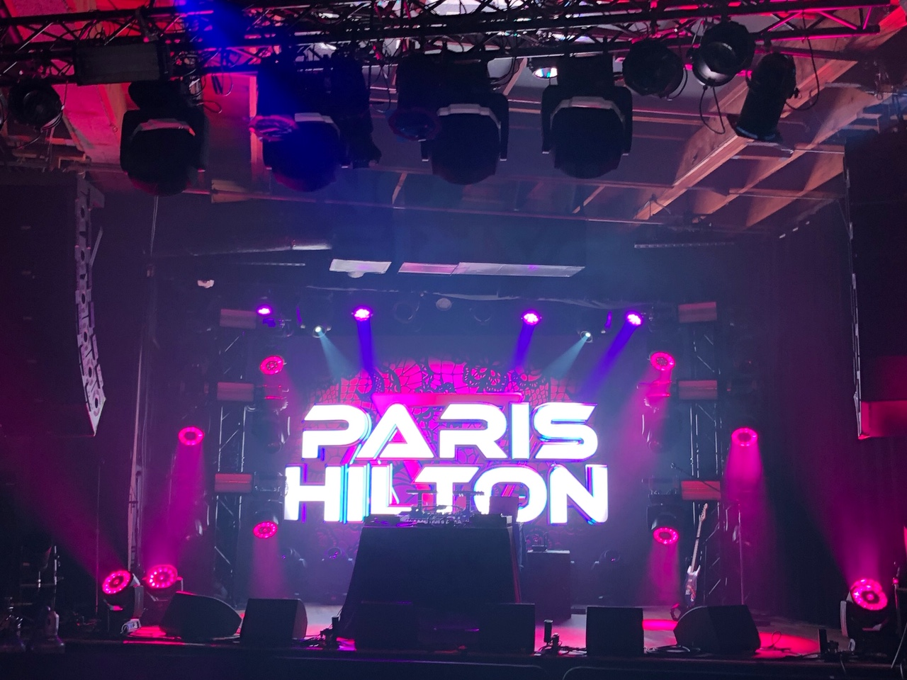 Paris Hilton DJ Set
