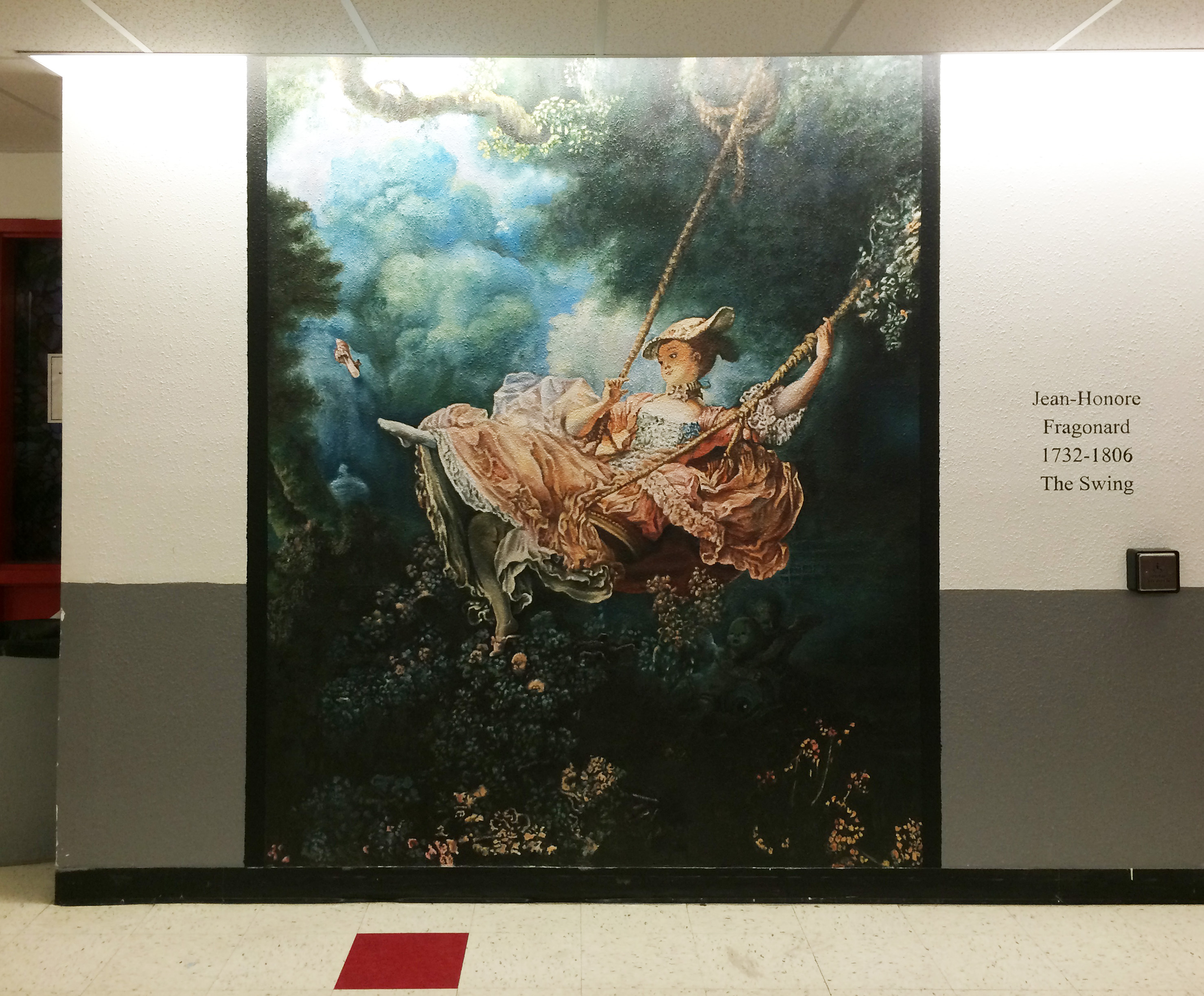 Mural: The Swing
