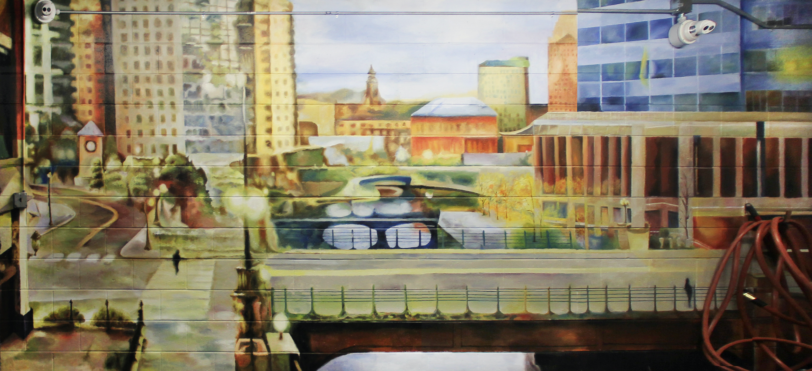 Mural: Downtown Providence