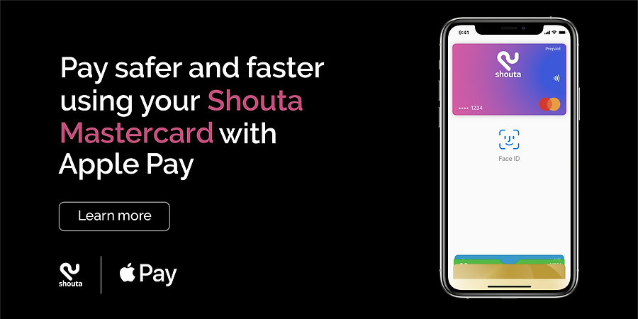 shouta app and apple pay