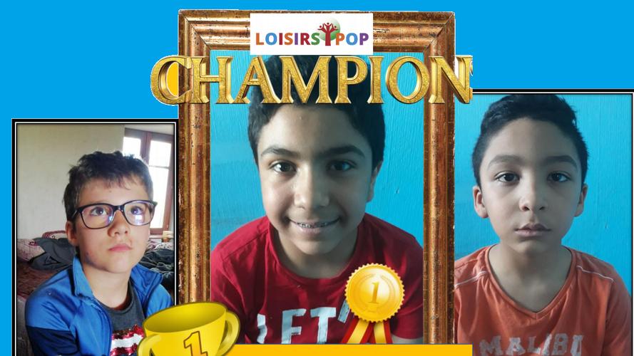 Mohamed FILALI champion n* 3