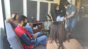 Visita ao Vox Studios, no âmbito do Projeto Internacional CHIMES