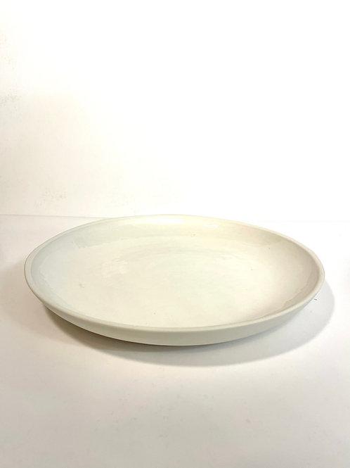 Porzellanplatte «White»