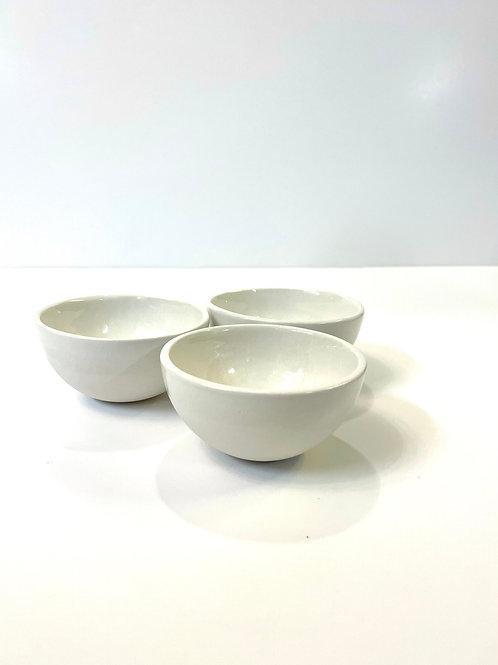 3-er Set Mini Bowls «White»