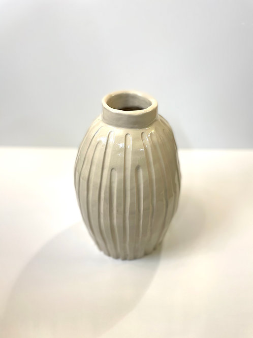 Keramikvase «Rills»