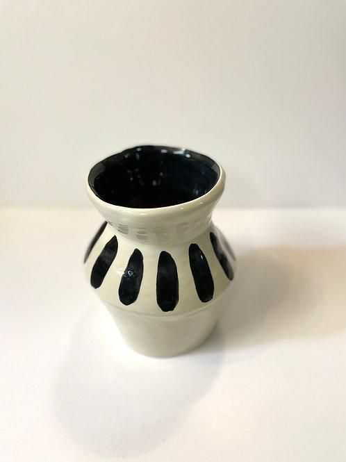 Vase «Black Stripes»