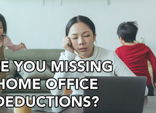 Don't Miss Out On Home Office Deductions!