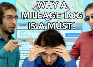 Why a Mileage Log Is a Must!