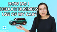 Do You Deduct Your Car For Business Use?