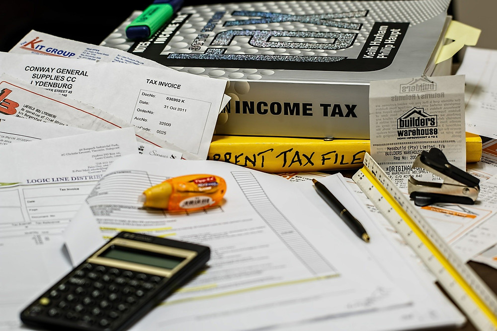 Cluttered Tax Files