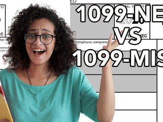 The Difference Between 1099 NEC vs 1099 MISC