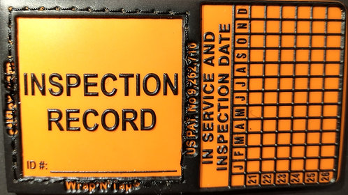 Wrap 'N' Tap Inspection Tags