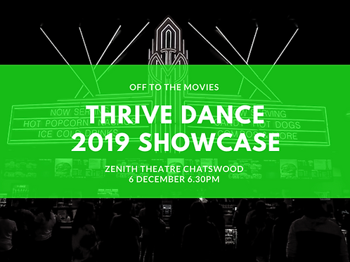 Showcase DVD Thrive Dance