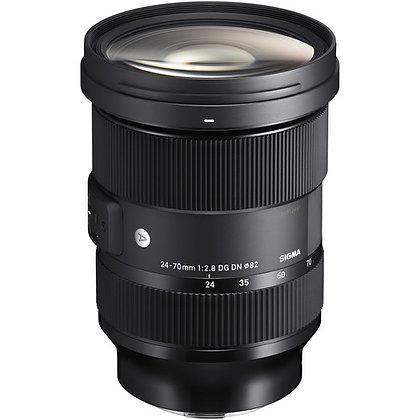 Sigma 24-70mm f/2.8 DG DN Art Lens for Sony E