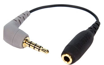 Rode SC4 3.5mm TRS Female to 3.5mm TRRS Male Adapter Cable for Smart
