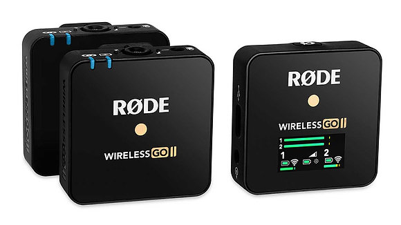 Rode Wireless GO II 2-Person Compact Digital Wireless Microphone System/Recorder