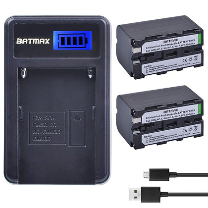 Sony NP-F750 Li-ion Battery and Charger (3rd Party)