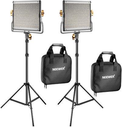 Neewer 2 Packs 480 LED Light Panel Kit