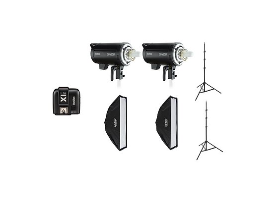 Godox DP600III Flash Head Studio Strobe Package