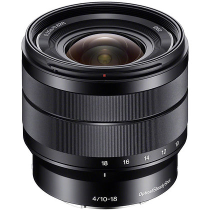 Sony E 10-18mm f/4 OSS Lens with UV Filter Kit