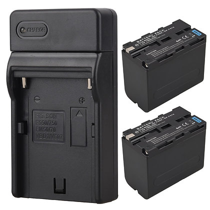 Sony NP-F960 Li-ion Battery and Charger (3rd Party)