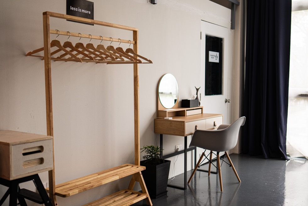 Cloth Hanger and Dressing Table