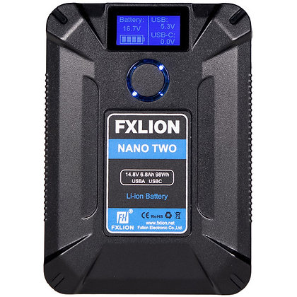 Fxlion NANO TWO 50Wh 14.8V V-Mount Battery