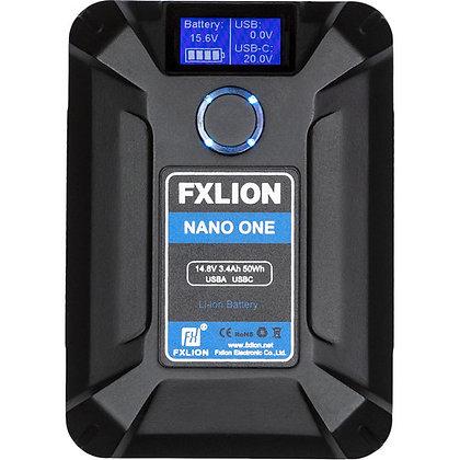Fxlion NANO ONE 50Wh 14.8V V-Mount Battery