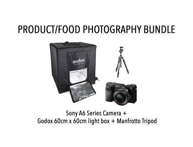 PRODUCT/FOOD PHOTOGRAPHY BUNDL