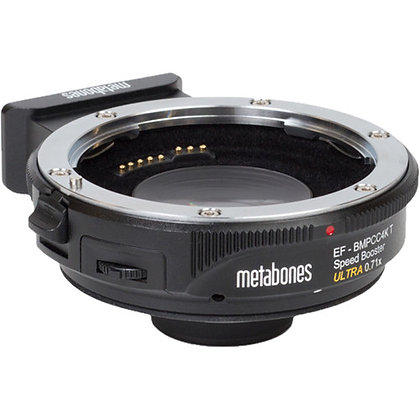 Metabones T Speed Booster ULTRA 0.71x Adapter for Canon EF Lens to BMPCC 4K