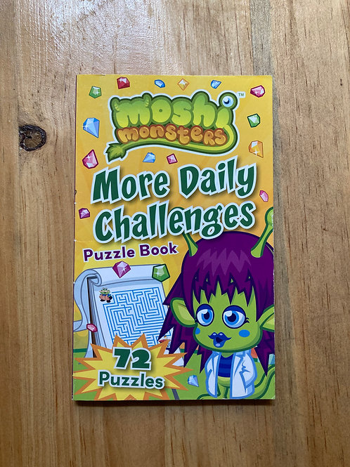 Mooshie Monsters: More Daily Challenges Puzzle Book