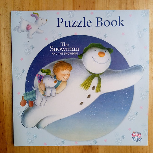 Puzzle Book: The Snowman and the Snowdog