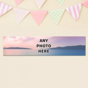 One Photo Banner - Photo