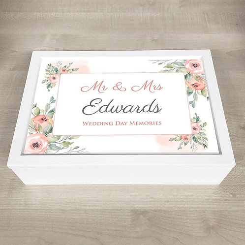 Wedding Memory Box  - Text Only