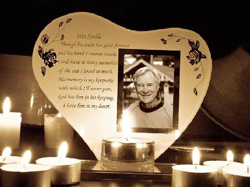 His Smile  Memorial T-light