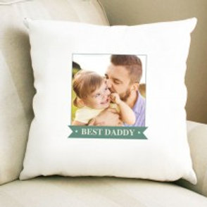 Best Daddy - Velvet Cushion - Photo Only
