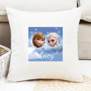 Frozen - Velvet Cushion - Name Only