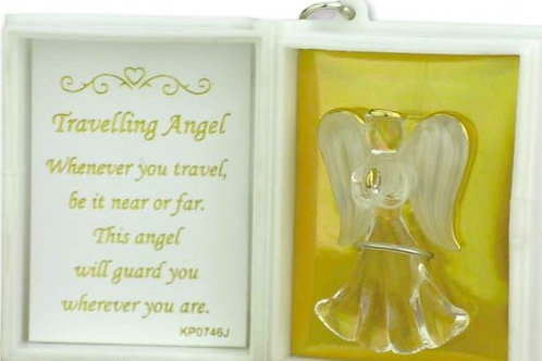 Travelling Angel Key Ring Booklet