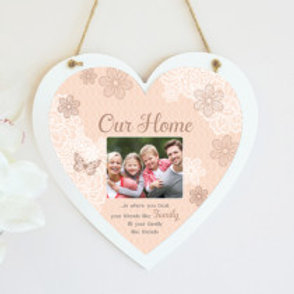 Our Home Hanging Heart  - Photo