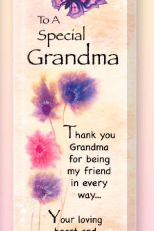 Grandma - Treasured Sentiment Plaque