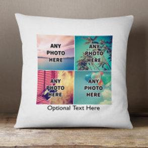 Velvet Cushion - Four Photos & Text