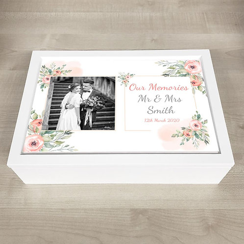 Our Wedding Memory Box - Photo & Text