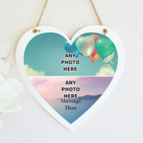 Hanging Heart - Two Photos