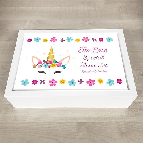 Special Moments Memory Box  - Unicorn