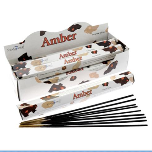 Amber - Stamford Incense Sticks