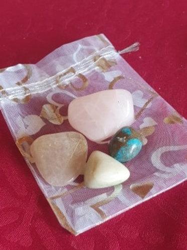 Phobias - Gemstone Healing Pack