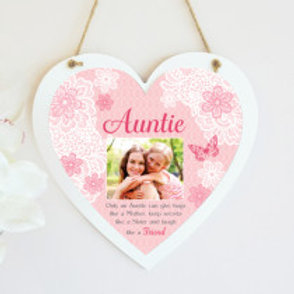 Auntie Hanging Heart  - Photo