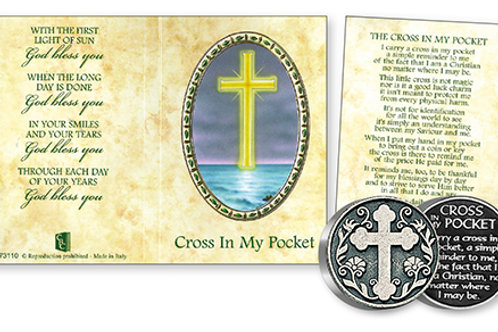 Cross in My Pocket - Prayer Coin & Booklet