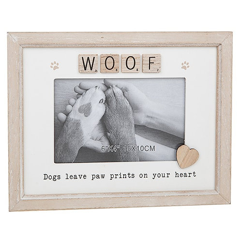 Dog - Scrabble Sentiments Frame
